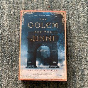 BOOK RHE GOLDEM AND THE JINNI